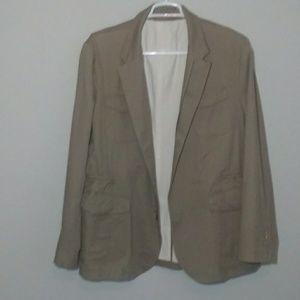 Mossimo Dutti Men's Double Zip Safari Jacket